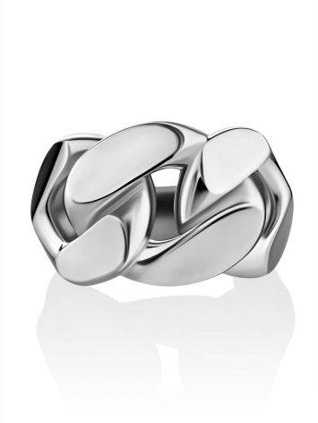 Industrial Design Silver Ring The ICONIC, Ring Size: 5.5 / 16, image , picture 3