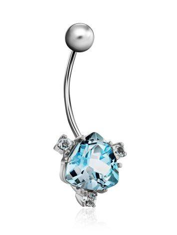 Dazzling Topaz Navel Piercing, image , picture 3