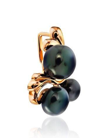 Elegant Dark Purple Pearl Pendant, image , picture 3