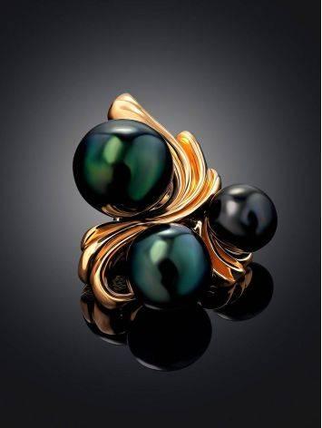 Elegant Dark Purple Pearl Pendant, image , picture 2