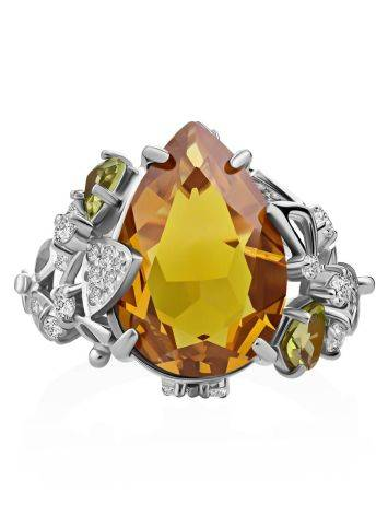 Dazzling Silver Zultanite Ring, Ring Size: 8.5 / 18.5, image , picture 4