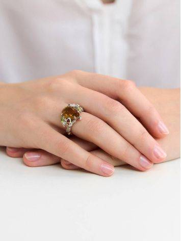 Dazzling Silver Zultanite Ring, Ring Size: 8.5 / 18.5, image , picture 3