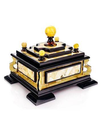 Multicolor Amber Jewelry Box, image