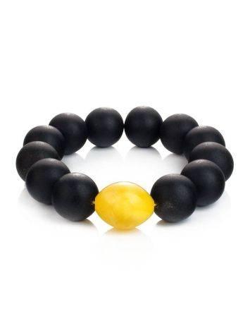 Black Amber Bracelet The Cuba, image