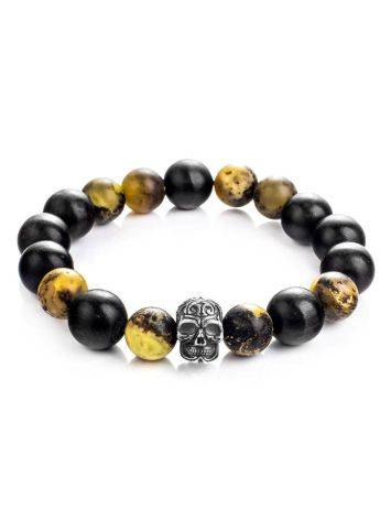 Black Amber Bracelet With Natural Amber The Cuba, image