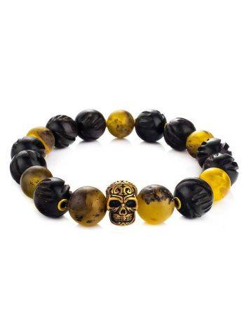 Amber And Wood Bracelet The Cuba, image