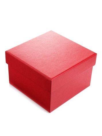 Red Cardboard Jewelry Box, image