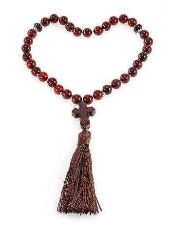 Orthodox 33 Cherry Amber Prayer Beads, image