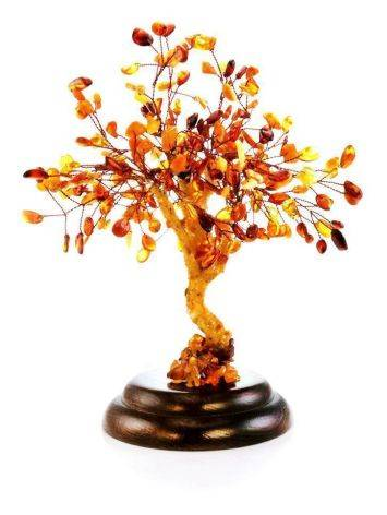 Multicolor Amber Decorative Money Tree, image