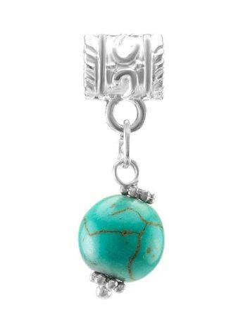 Charm With Reconstructed Turquoise The Acorn, image
