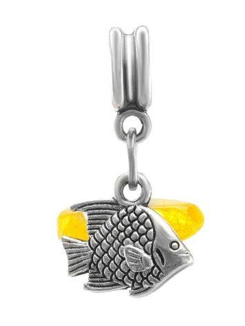 Charm With Honey Amber The Fish, image