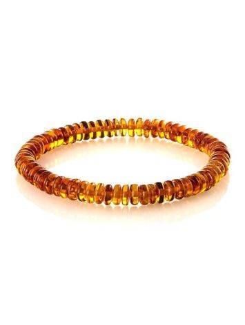 Multicolor Amber Beaded Bracelet The Prague, image