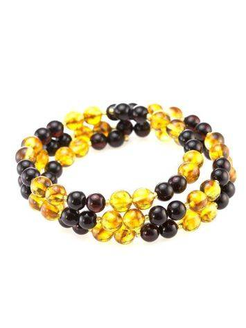 Two Toned Amber Bracelet The Ariadna, image