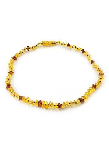 Natural Baltic Amber Teething Necklace, image