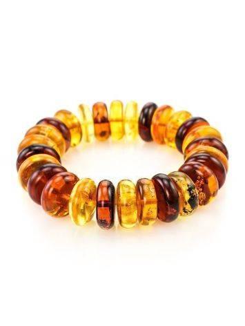 Multicolor Amber Designer Bracelet The Prague, image