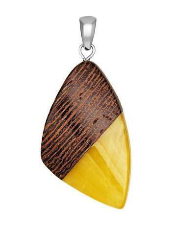Honey Amber And Wood Pendant The Indonesia, image
