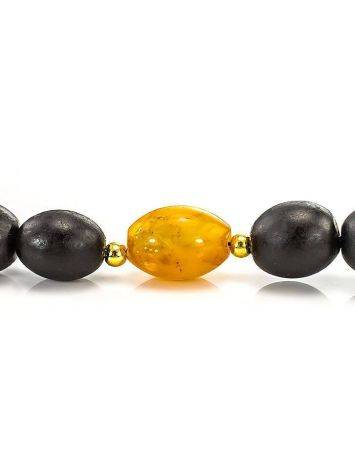 50 Olive Cut Amber Rosary The Cuba, image , picture 7