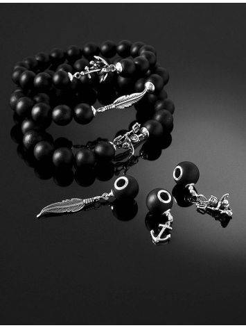 Dark Beaded Bracelet The Cuba, image , picture 4