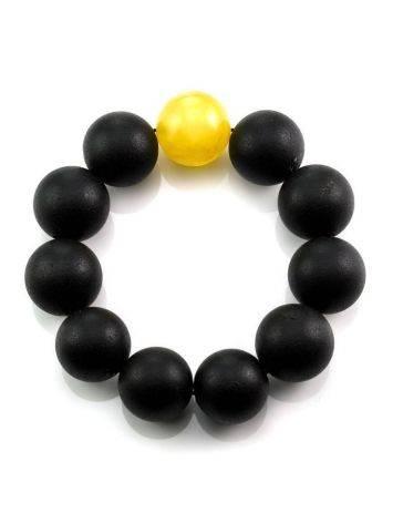 Black Amber Bracelet The Cuba, image , picture 4