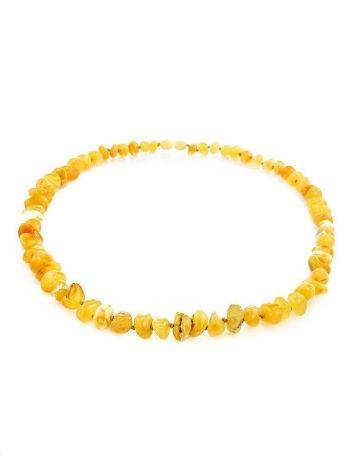 Honey Amber Beaded Necklace, image , picture 3