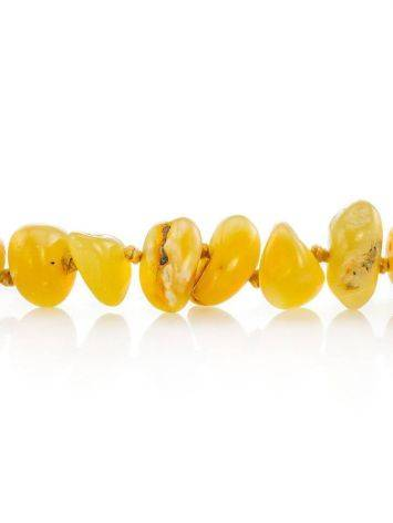 Honey Amber Beaded Necklace, image , picture 2