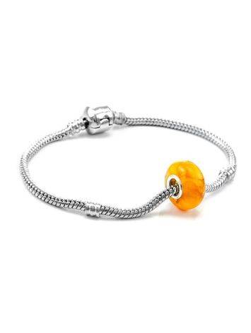 Bright Honey Amber Ball Charm, image , picture 4