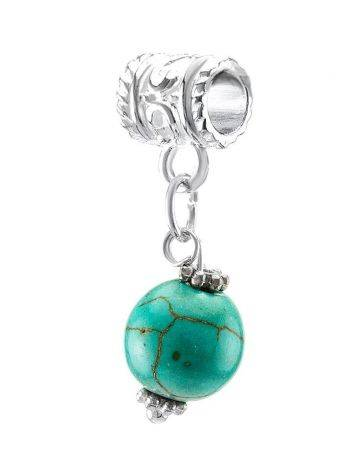 Charm With Reconstructed Turquoise The Acorn, image , picture 3