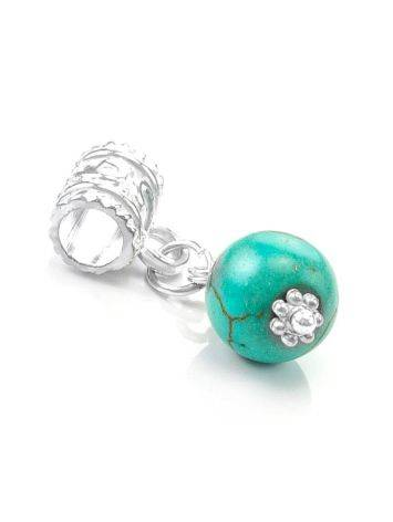 Charm With Reconstructed Turquoise The Acorn, image , picture 2