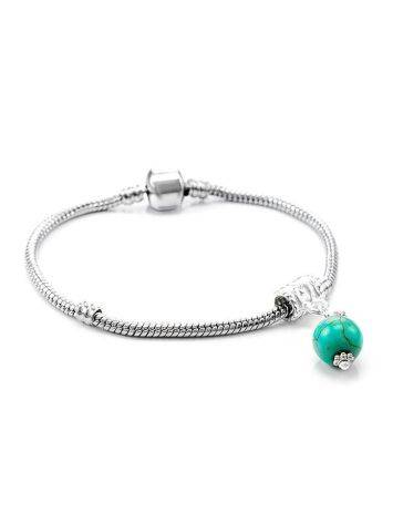 Charm With Reconstructed Turquoise The Acorn, image , picture 4