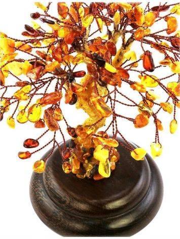 Multicolor Amber Decorative Money Tree, image , picture 2