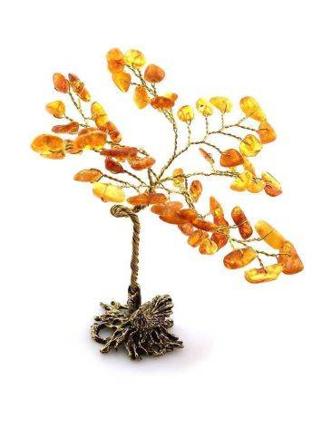 Lemon Amber Decorative Money Tree, image , picture 3
