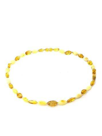 Multicolor Faceted Amber Beads, image , picture 4