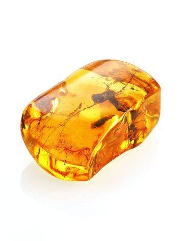 Souvenir Amber Stone With Floral Inclusion, image , picture 6