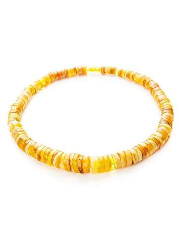 Honey Amber Beaded Necklace, image , picture 4