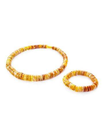 Honey Amber Beaded Necklace, image , picture 5