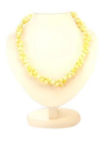Fabulous Honey Amber Beaded Necklace The Ariadna, image