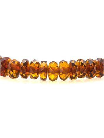 Cherry Amber Beaded Bracelet The Prague, image , picture 3