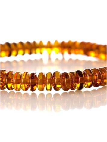 Multicolor Amber Beaded Bracelet The Prague, image , picture 2