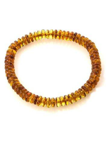 Multicolor Amber Beaded Bracelet The Prague, image , picture 3