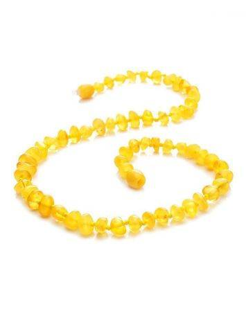 Honey Amber Teething Necklace, image , picture 4