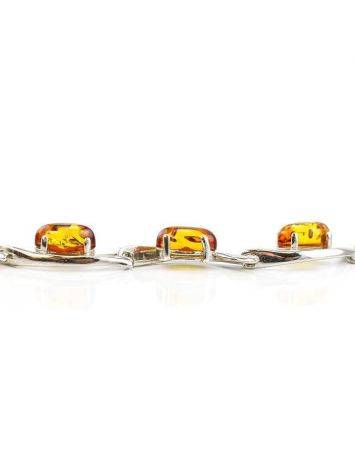 Amber Necklace In Sterling Silver The Verbena, image , picture 2