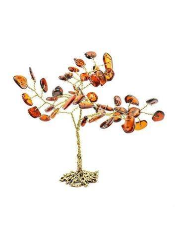 Cognac Amber Decorative Money Tree, image , picture 5