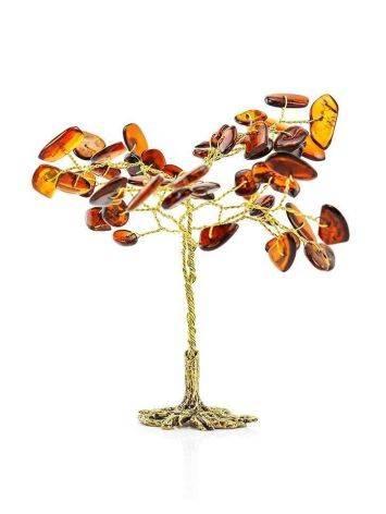 Cognac Amber Decorative Money Tree, image , picture 6
