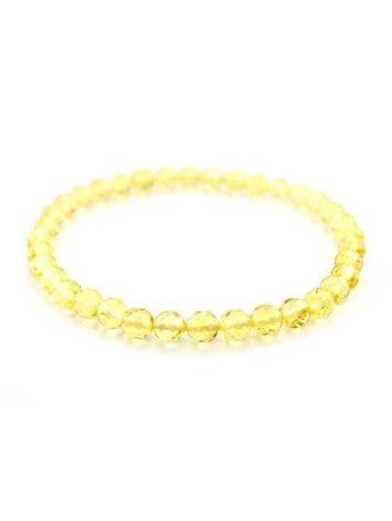 Faceted Lemon Amber Bracelet The Prague, image