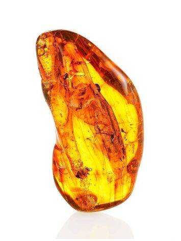 Amber Stone With Fly Inclusion, image