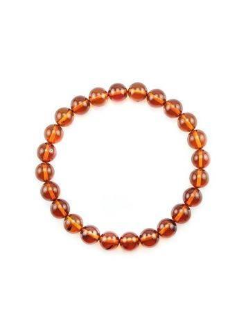 Simple Amber Elastic Bracelet, image , picture 3