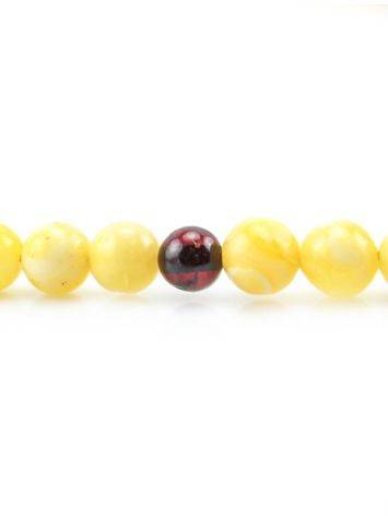 Honey Amber Mala Prayer Beads, image , picture 4