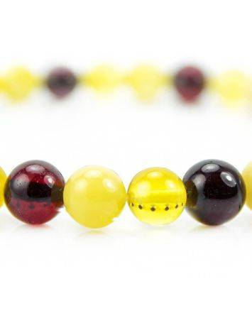 Multicolor Amber Beaded Bracelet, image , picture 2