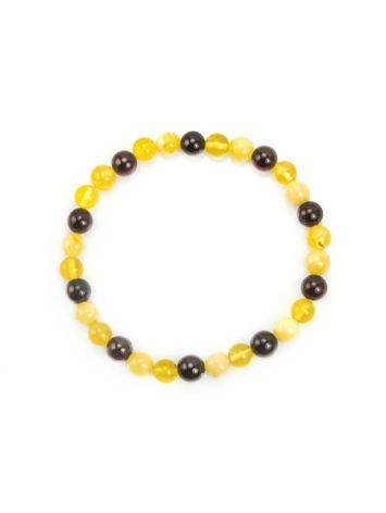 Multicolor Amber Beaded Bracelet, image , picture 3
