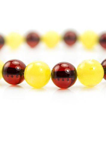 Two Toned Amber Beaded Bracelet, image , picture 2